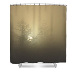 Sunrise Fogged - 1 Shower Curtain
