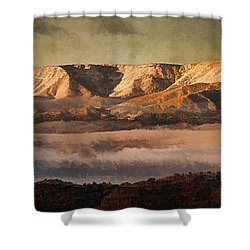 Sunrise Glow Pano Pnt Shower Curtain