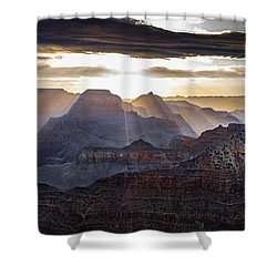 Sunrise Grand Canyon Shower Curtain by Phil Abrams