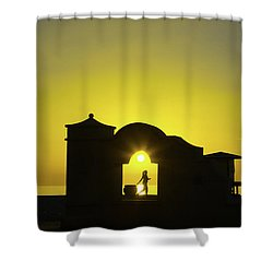Sunrise Hollywood Florida Shower Curtain