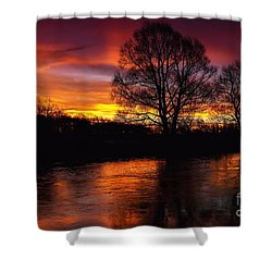 Sunrise II Shower Curtain