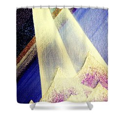 Sunrise  In Alpine Shower Curtain