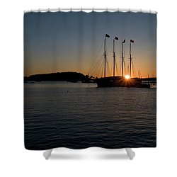 Sunrise In Bar Harbor Shower Curtain