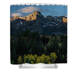 Sunrise In Colorado - 8689 Shower Curtain