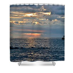 Sunrise In Duluth Shower Curtain