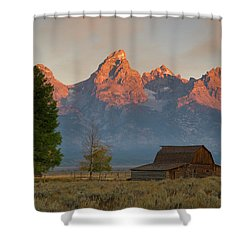 Sunrise In Jackson Hole Shower Curtain
