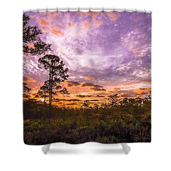 Sunrise In Jd Shower Curtain