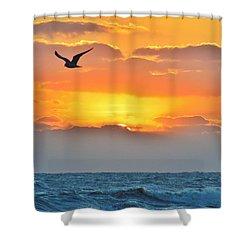 Sunrise In Nags Head Shower Curtain