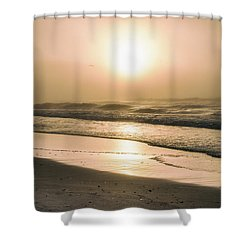 Shower Curtain featuring the photograph Sunrise In Orange Beach  by John McGraw