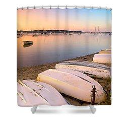 Sunrise In Osterville Cape Cod Massachusetts Shower Curtain