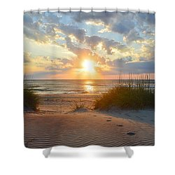 Sunrise In South Nags Head Shower Curtain