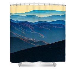 Sunrise In The Smokies Shower Curtain