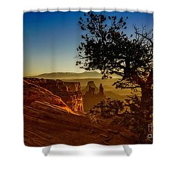 Sunrise Inspiration Shower Curtain
