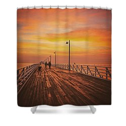 Sunrise Lovers Shower Curtain
