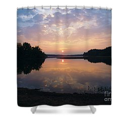 Sunrise Morning Bliss 152b Shower Curtain