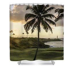 Sunrise Ninini Point, Kauai Shower Curtain