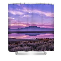 Sunrise On Antelope Island Shower Curtain