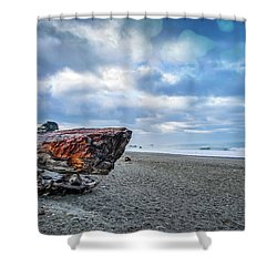 Sunrise On Brookings Shower Curtain