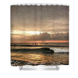 Sunrise On Carolina Beach North Carolina Shower Curtain