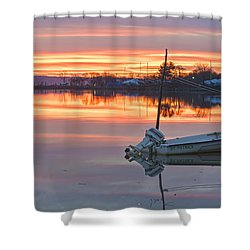 Sunrise On Christmas Day Shower Curtain