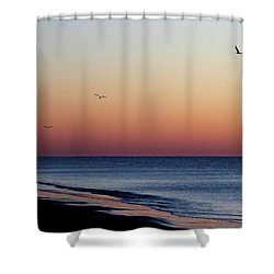 Sunrise On Hilton Head Shower Curtain by Bruce Patrick Smith