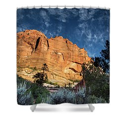 Sunrise On Kolob Arch Trail Shower Curtain
