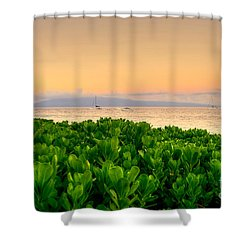 Sunrise On Maui Shower Curtain by Kelly Wade
