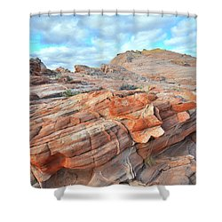 Sunrise On Sandstone In Valley Of Fire Shower Curtain