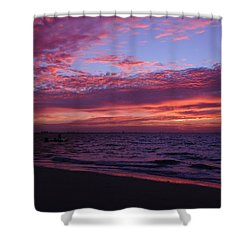 Sunrise On Sanibel Island Shower Curtain