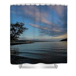Sunrise On Seneca Lake Shower Curtain