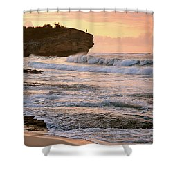 Sunrise On Shipwreck Beach Shower Curtain