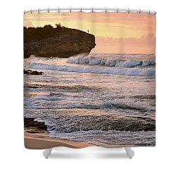 Sunrise On Shipwreck Beach Shower Curtain