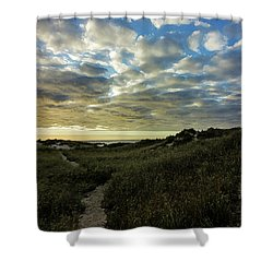 Sunrise On The Cape Shower Curtain