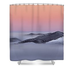 Sunrise On The Dunes Shower Curtain