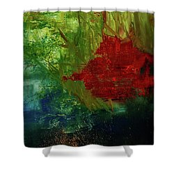 Sunrise On The Marsh Shower Curtain