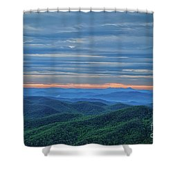 Sunrise On The Parkway Shower Curtain