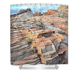 Sunrise On Valley Of Fire Shower Curtain