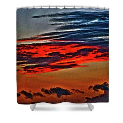 Sunrise Over Daytona Beach Shower Curtain