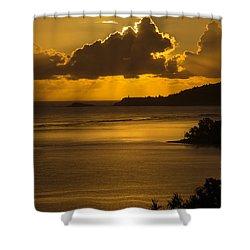 Sunrise Over Kilauea Point In Kauai Shower Curtain by Frank Wilson