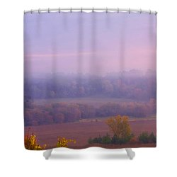 Sunrise Over Mid Valley 2 Shower Curtain
