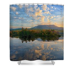 Sunrise Over Mt. Katahdin Shower Curtain