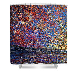 Sunrise Over St Andrews Nb Shower Curtain