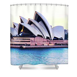 Sunrise Over Sydney Opera House Shower Curtain