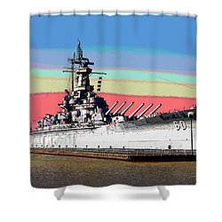 Sunrise Over The Alabama Shower Curtain by Charles Shoup