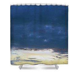 Sunrise Over The Cascades Shower Curtain
