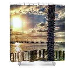 Sunrise Over The Matanzas Shower Curtain
