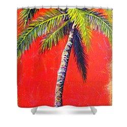 Sunrise Palm Shower Curtain