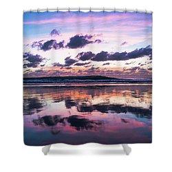 Sunrise Pink Wisps Delray Beach Florida Shower Curtain