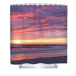 Sunrise Pinks Shower Curtain