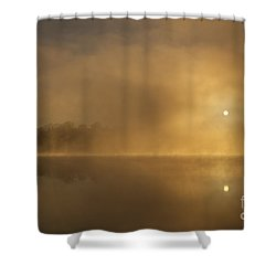 Sunrise Relections Shower Curtain